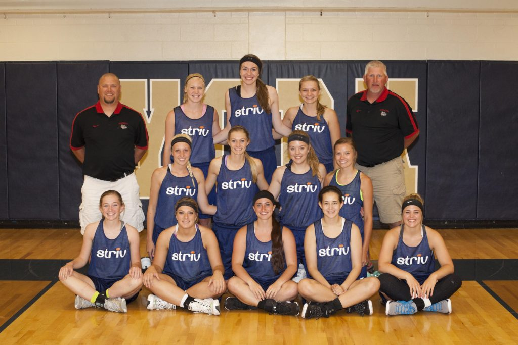 2016 Striv All-Star Girls Blue Team Small