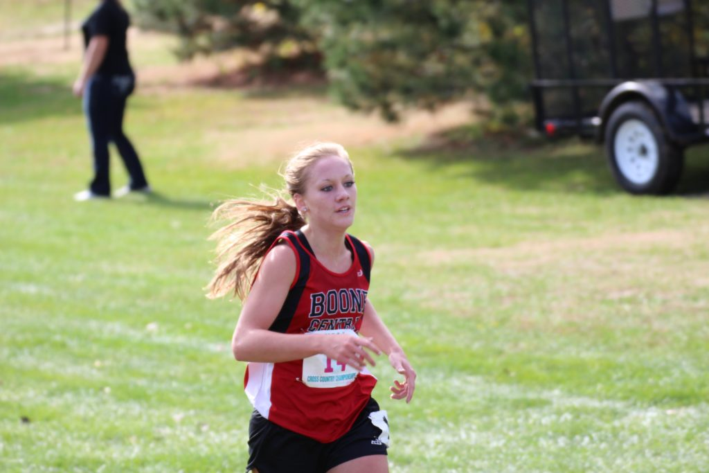 Ashlynn Baker lead the BC/NG girls with a 5th place finish at state last year.